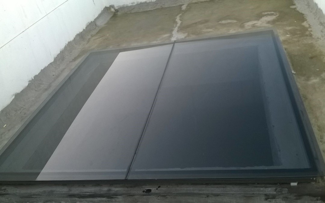 Double glazed skylight