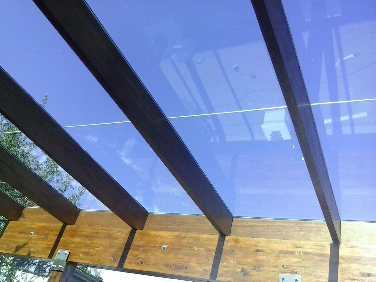 Skylights and walk-on Glass